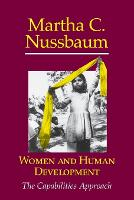 Women and Human Development: The Capabilities Approach - The Seeley Lectures (Paperback)