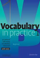 Vocabulary in Practice 1 (Paperback)