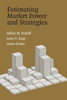 Estimating Market Power and Strategies (Paperback)
