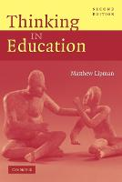 Thinking in Education (Paperback)