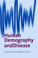Human Demography and Disease (Paperback)