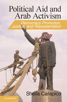 Political Aid and Arab Activism: Democracy Promotion, Justice, and Representation - Cambridge Middle East Studies (Paperback)