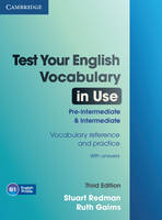 Test Your English Vocabulary in Use Pre-intermediate and Intermediate with Answers (Paperback)