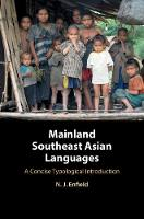 Mainland Southeast Asian Languages: A Concise Typological Introduction (Paperback)