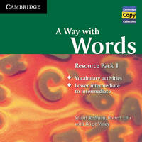 A Way with Words Resource Pack 1 Audio CD - Cambridge Copy Collection (CD-Audio)