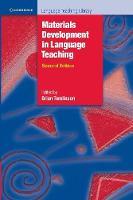 Cambridge Language Teaching Library: Materials Development in Language Teaching