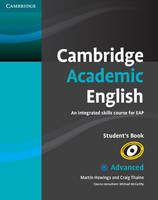 Cambridge Academic English C1 Advanced Student's Book: An Integrated Skills Course for EAP (Paperback)