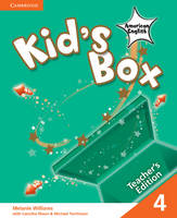 Kid's Box American English Level 4 Teacher's Edition (Paperback)