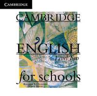 Cambridge English for Schools Level 2 Class Audio CDs (2): Level 2 (CD-Audio)