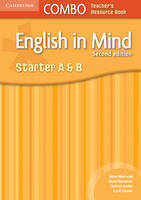 English in Mind Starter A and B Combo Teacher's Resource Book (Spiral bound)
