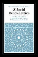 Abbasid Belles Lettres - The Cambridge History of Arabic Literature (Hardback)