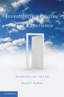 Investigating Pristine Inner Experience: Moments of Truth (Paperback)