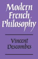 Modern French Philosophy (Paperback)