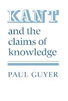 Kant and the Claims of Knowledge (Paperback)