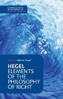 Cambridge Texts in the History of Political Thought: Hegel: Elements of the Philosophy of Right (Paperback)