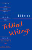 Diderot: Political Writings - Cambridge Texts in the History of Political Thought (Paperback)