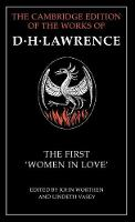 The First 'Women in Love' - The Cambridge Edition of the Works of D. H. Lawrence (Hardback)