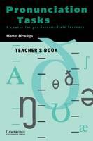 Pronunciation Tasks Teacher's book: A Course for Pre-intermediate Learners (Paperback)