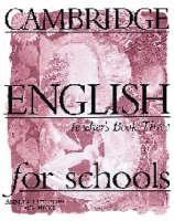 Cambridge English for Schools 3 Teacher's Book: Teacher's Book Bk. 3 (Paperback)