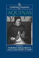 The Cambridge Companion to Aquinas - Cambridge Companions to Philosophy (Paperback)