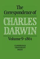 The Correspondence of Charles Darwin: Volume 9, 1861 - The Correspondence of Charles Darwin (Hardback)