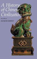 A History of Chinese Civilization (Hardback)