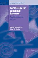 Psychology for Language Teachers: A Social Constructivist Approach - Cambridge Language Teaching Library (Paperback)