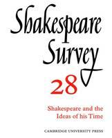 Shakespeare Survey - Shakespeare Survey Paperback Set Volume 28 (Paperback)