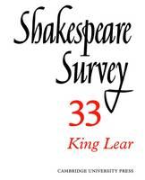 Shakespeare Survey - Shakespeare Survey Volume 33 (Paperback)