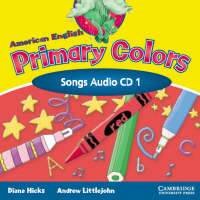 American English Primary Colors 1 Songs CD (CD-Audio)