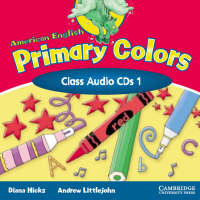 American English Primary Colors 1 Class CD (CD-Audio)