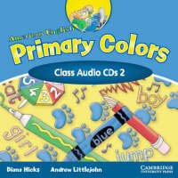 American English Primary Colors Level 2 Class CD (2) (CD-Audio)