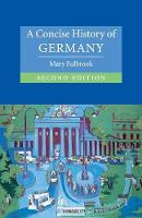 Cambridge Concise Histories: A Concise History of Germany (Paperback)