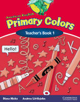 American English Primary Colors 1 Teacher's Book (Paperback)