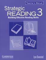 Strategic Reading 3 Teacher's Manual: Level 3: Building Effective Reading Skills (Paperback)