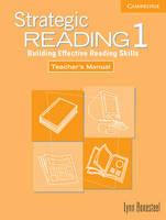 Strategic Reading 1 Teacher's Manual: Level 1: Building Effective Reading Skills (Paperback)