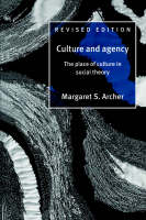 Culture and Agency: The Place of Culture in Social Theory (Paperback)