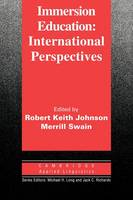 Immersion Education: International Perspectives - Cambridge Applied Linguistics (Paperback)