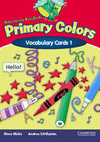 American English Primary Colors 1 Vocabulary Cards
