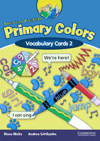 American English Primary Colors 2 Vocabulary Cards