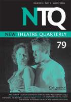 New Theatre Quarterly 79: Volume 20, Part 3