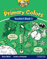 American English Primary Colors 3 Teacher's Book (Paperback)