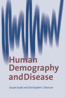 Human Demography and Disease (Hardback)