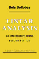 Linear Analysis: An Introductory Course (Paperback)