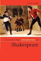 Cambridge Introductions to Literature: The Cambridge Introduction to Shakespeare (Paperback)