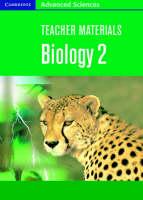 Teacher Materials Biology 2 CD-ROM - Cambridge Advanced Sciences (CD-ROM)