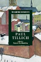 The Cambridge Companion to Paul Tillich - Cambridge Companions to Religion (Paperback)