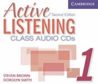 Active Listening 1 Class Audio CDs (CD-Audio)