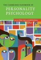 The Cambridge Handbook of Personality Psychology - Cambridge Handbooks in Psychology (Paperback)
