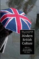 The Cambridge Companion to Modern British Culture - Cambridge Companions to Culture (Paperback)